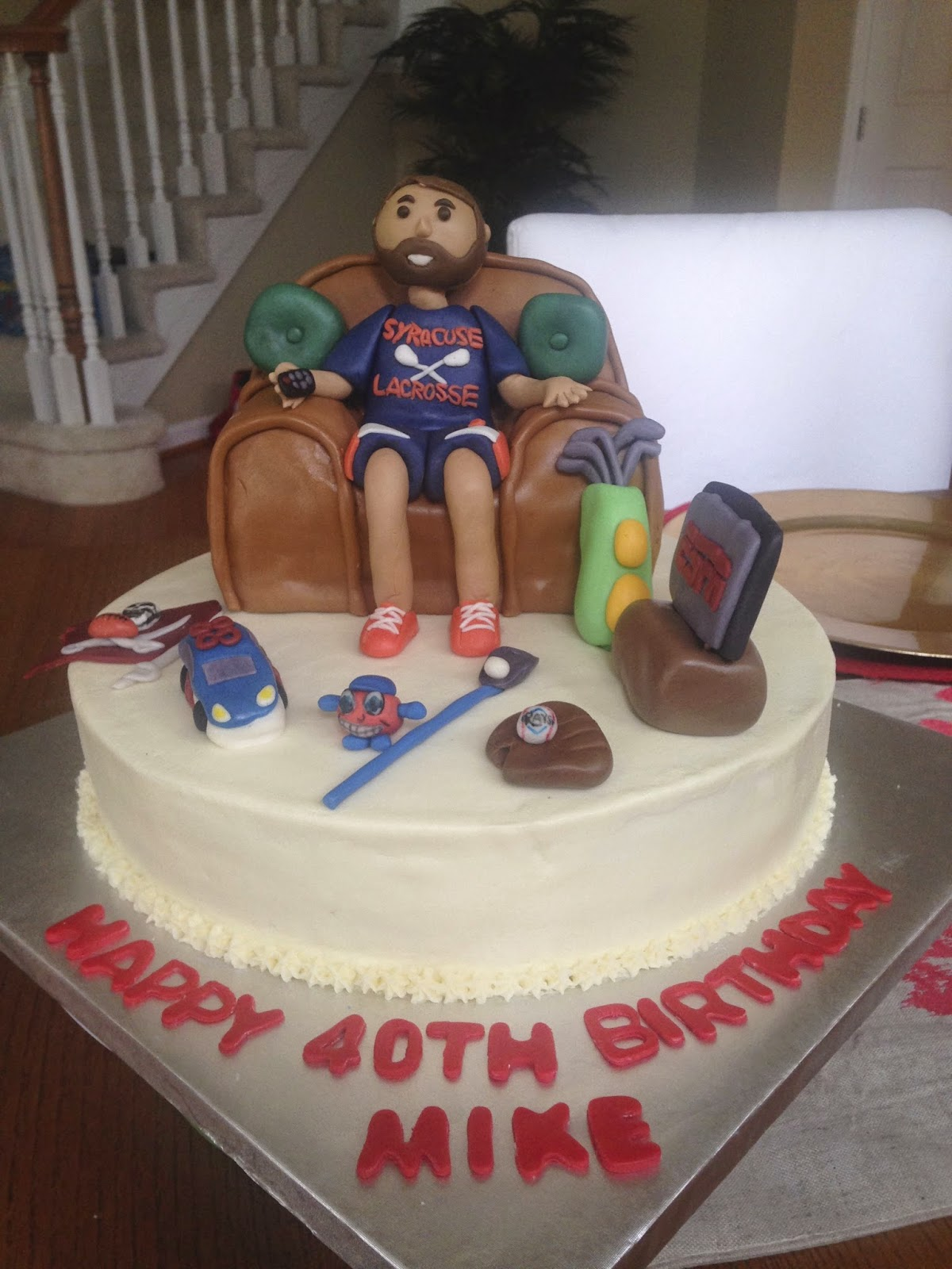 How To Make A Lacrosse Cake
