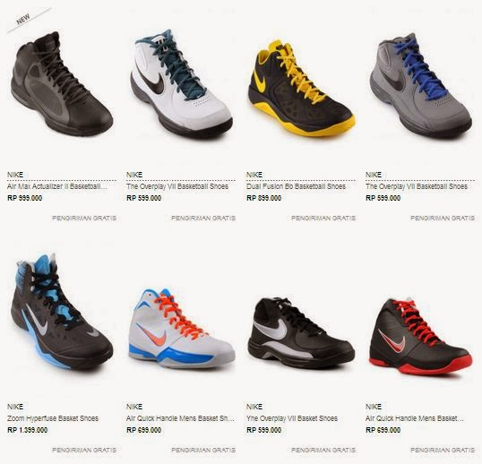 Daftar Harga Sepatu Basket Nike Original Terbaru Toko