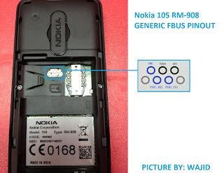 Pinout Nokia 105
