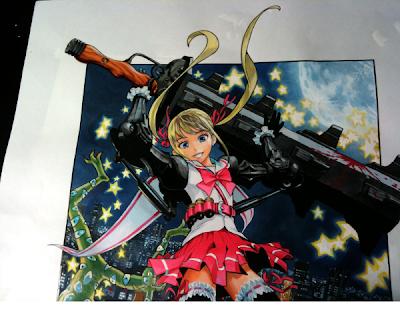 yuusuke murata one nuevo manga magil girl eyeshield 21