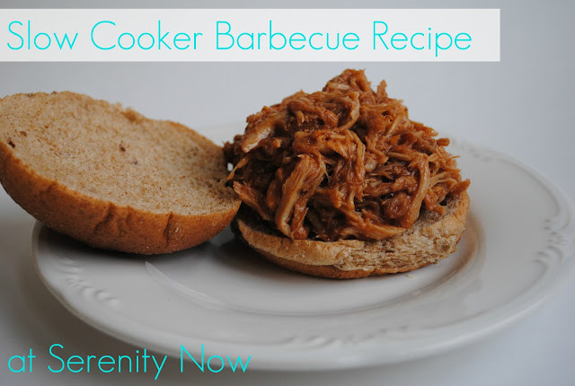 Slow Cooker Barbecue Recipe from Serenity Now