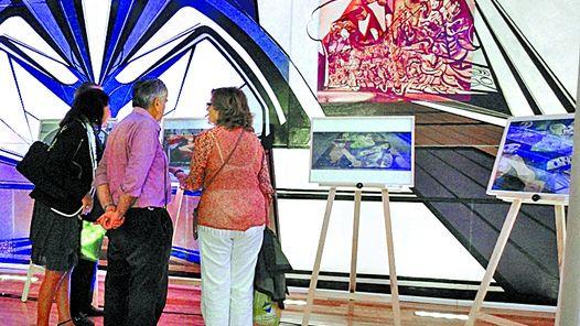 Rancho las voces arte p blico argentina presentaron en for El mural de siqueiros en argentina