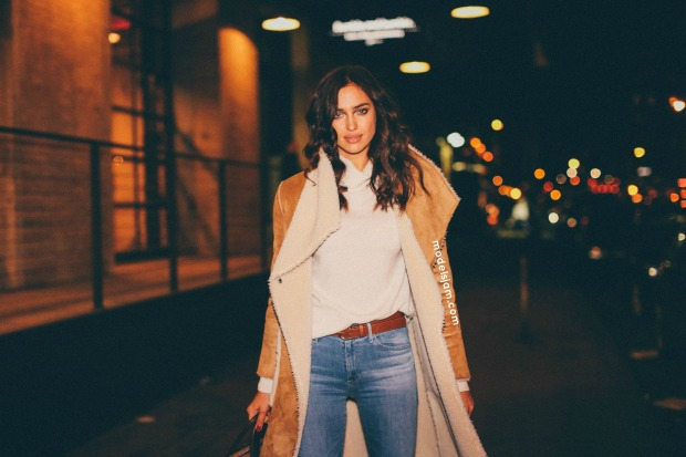 Irina Shayk, New York, February 2016