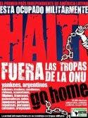 ¡Por una Haití Libre y Soberana!