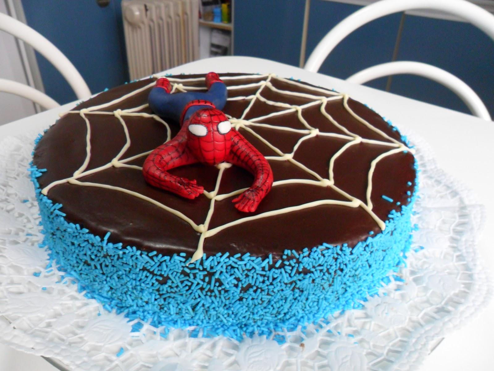Sabores da jo bolo homem aranha bolo homem aranha altavistaventures Gallery