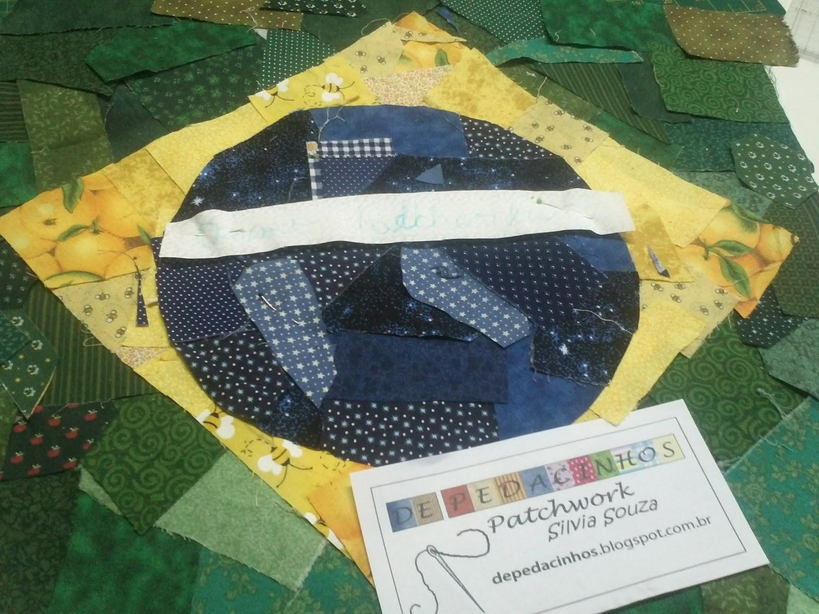 Pedacinhos de patchwork designs