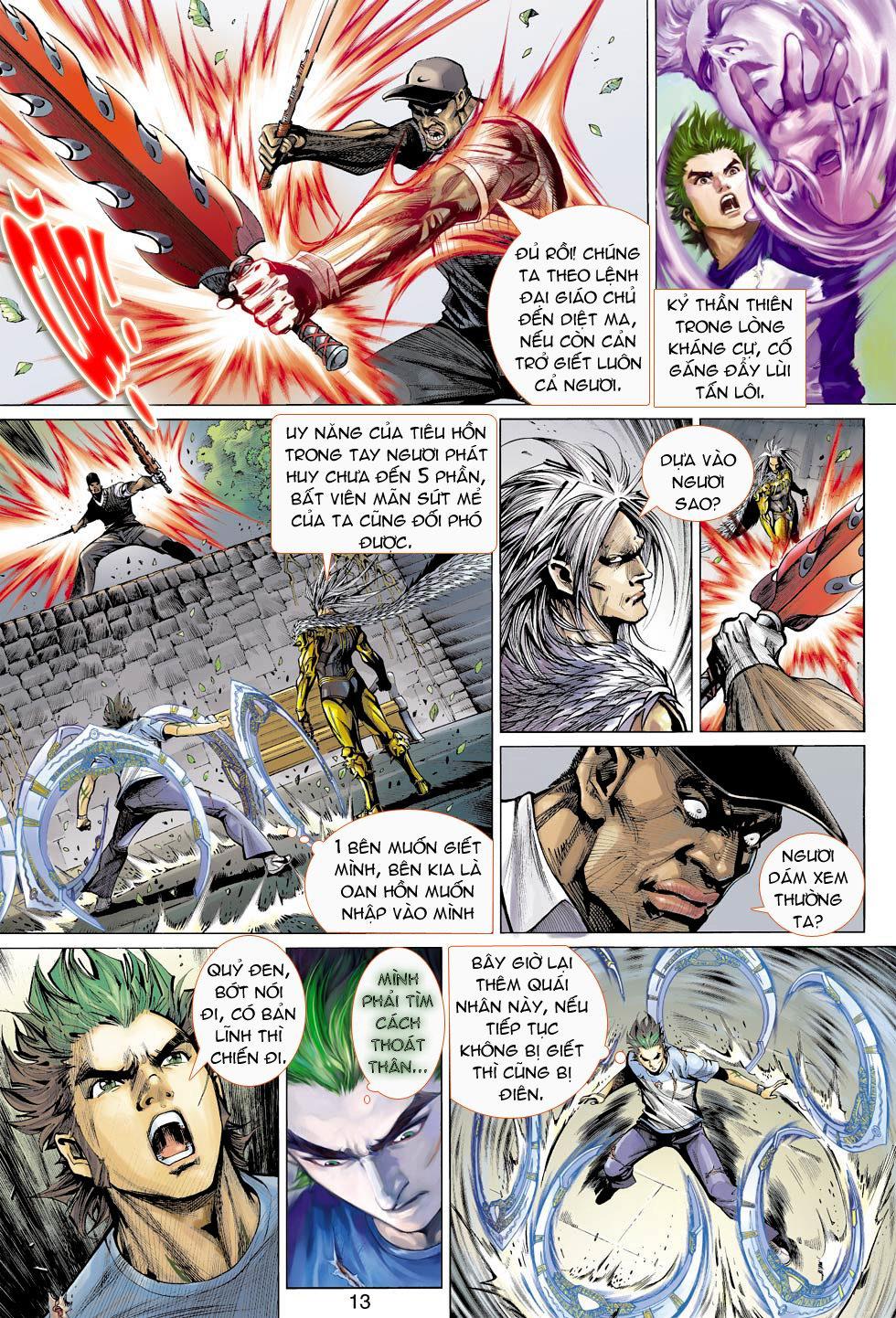 Thần Binh 4 chap 16 - Trang 13
