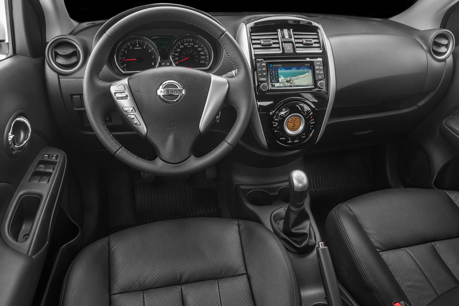 Novo Nissan Versa 2016 1.6 Unique - interior