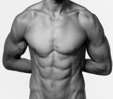 Jarrod Scott's chest