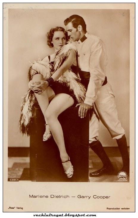 Marlene Dietrich si Garry Cooper