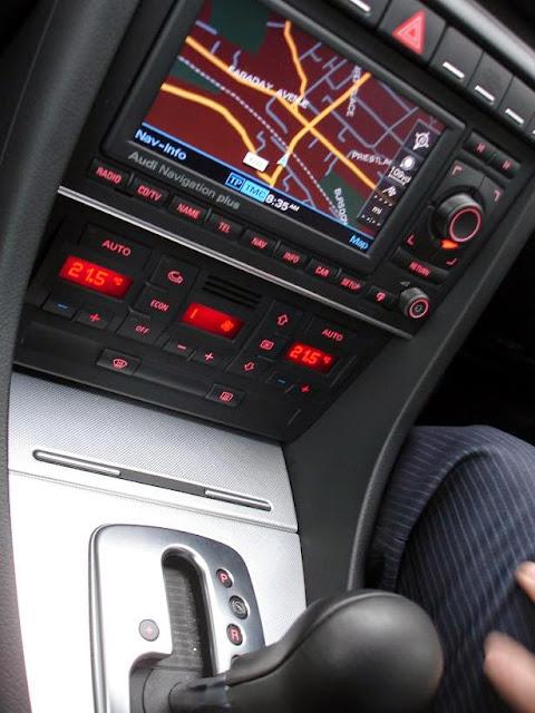 Inside the Audi