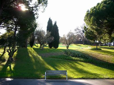 Montjuic Park in Barcelona