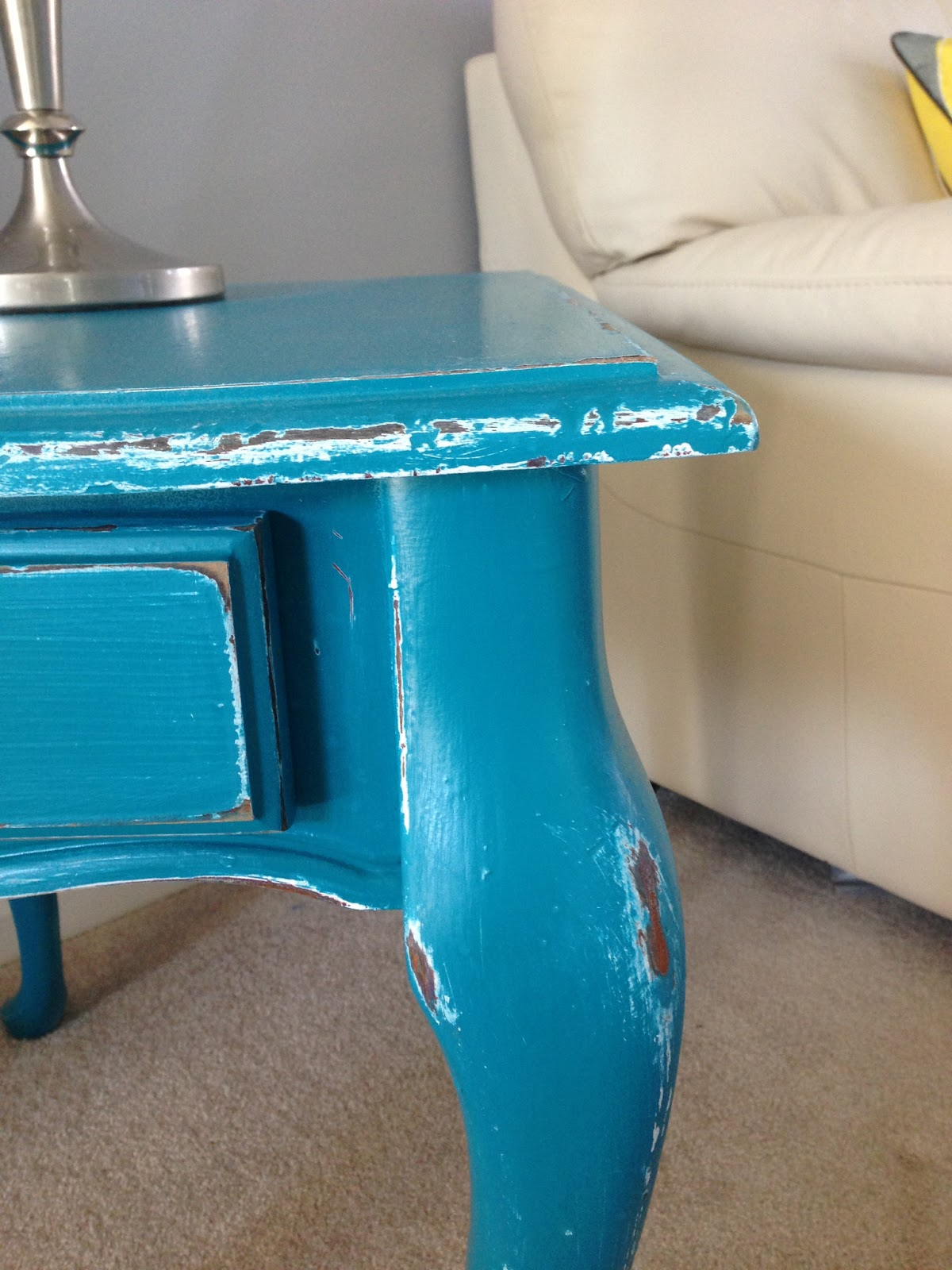The Coffee Table Is My Favorite It Distressed With A Chalkboard Top And Fold Down Sides Handles If You Have Kids This Piece Would Make For Hours Of