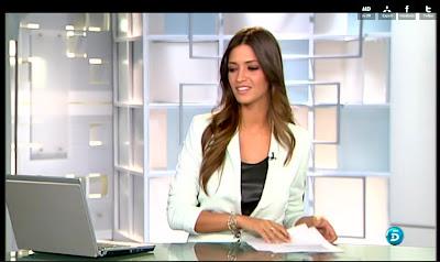 Sara Carbonero basicleather camiseta piel de tirantes