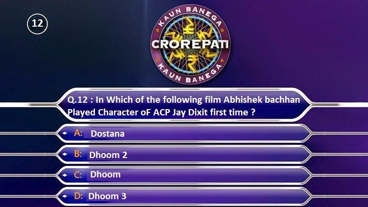 Today's Ghar Baithe Jeeto Jackpot Question of 27 August 2014