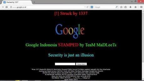 Google.co.id Heboh Karena di Hack