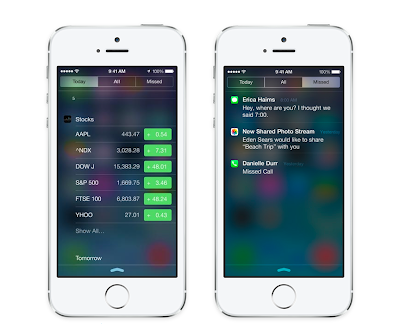 Axiom Creative Energy: 9 Ways iOS 7 Will Influence Marketing – Notification Center