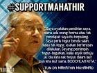 SUPPORT TUN MAHATHIR