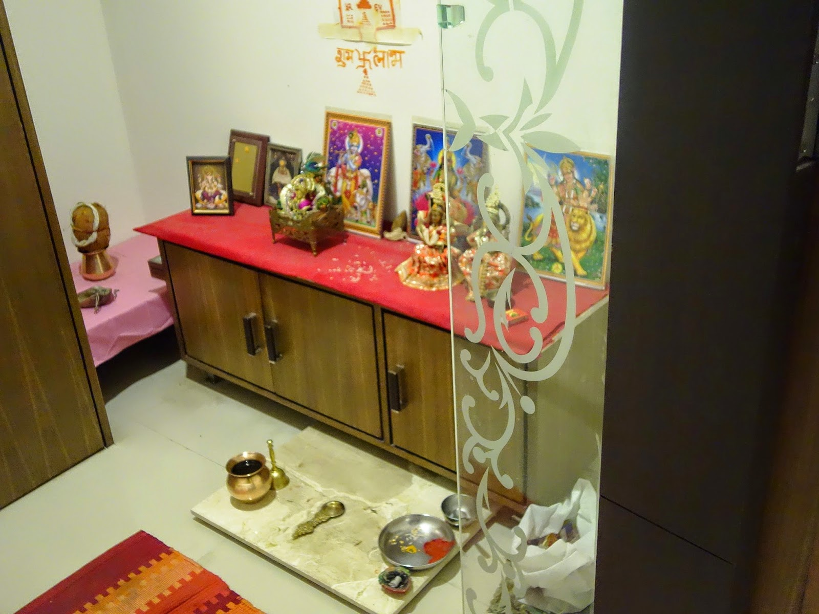 Pooja Place In Living Room Part   21: It Can Be An Independent Room. Part 64