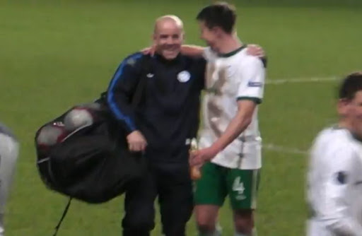Conor Cunningham sneaks into Republic of Ireland's game by donning Estonia tracksuit