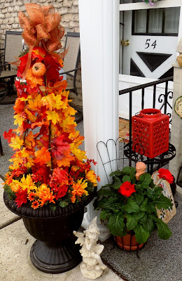 diy autumn topiary tutorial