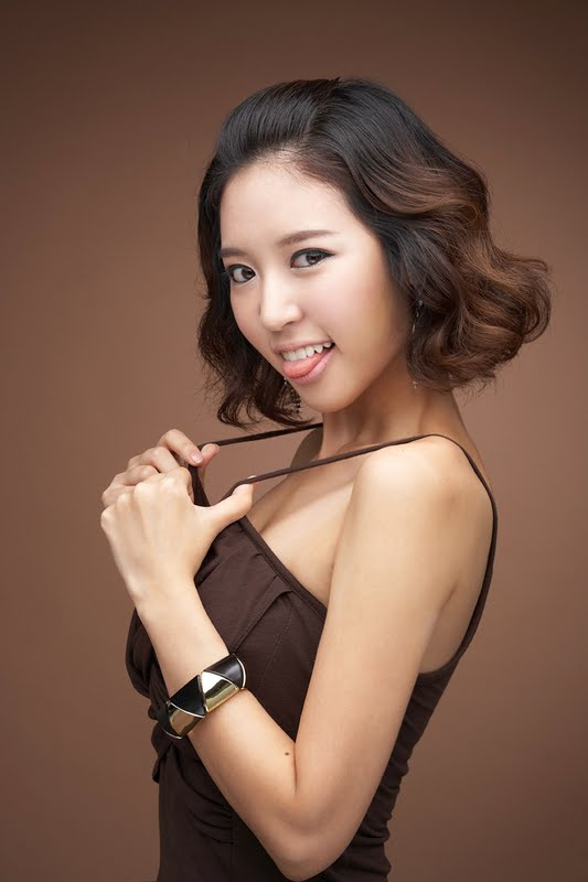 Yoon Joo Ha Lovely and Brown Dress