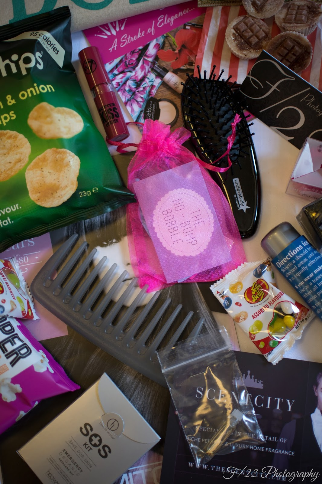 goody bag at the Big Blogger Conference London