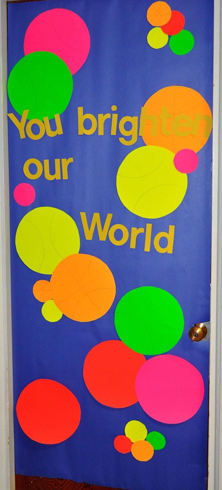 Children s learning activities teacher appreciation week door
