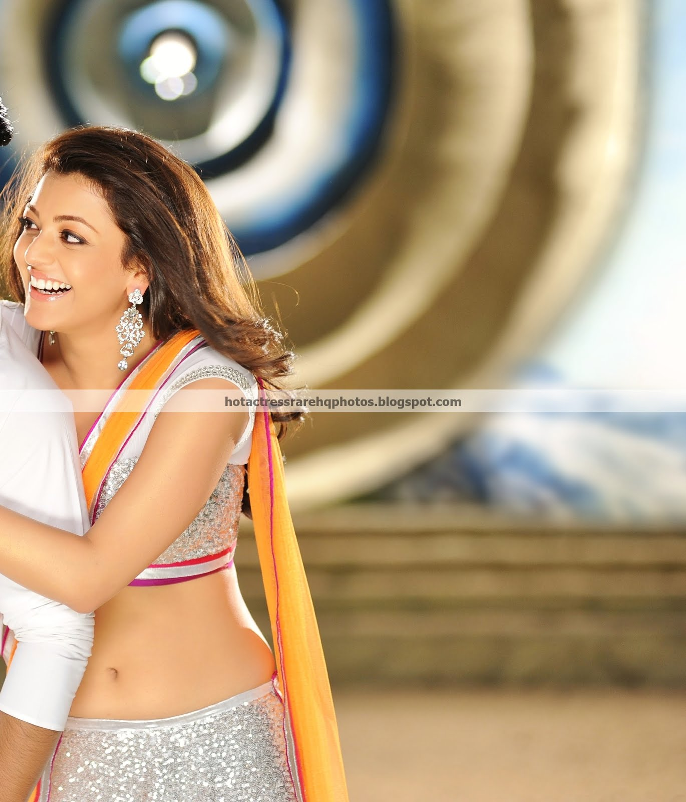 Navel Photos from Telugu Movie Nayak - HD || Kajal Agarwal Deep Navel ...