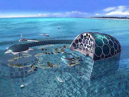 Dubai Hotel Underwater 01