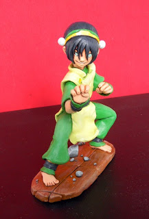 orme magiche toph dominatore terra last airbender manga action figures personalizzate cartoni pupazzi