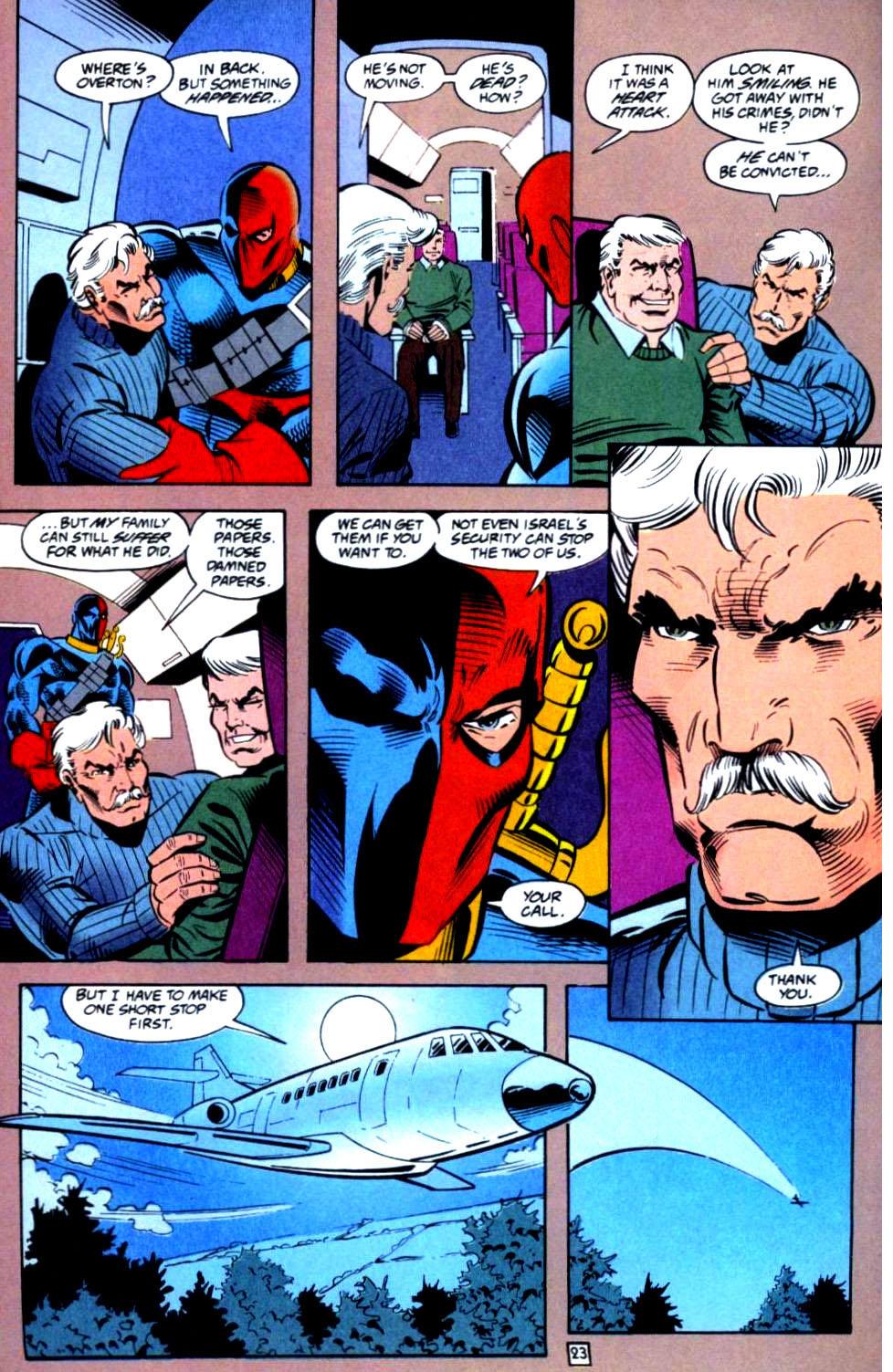 Deathstroke (1991) Issue #36 #41 - English 24