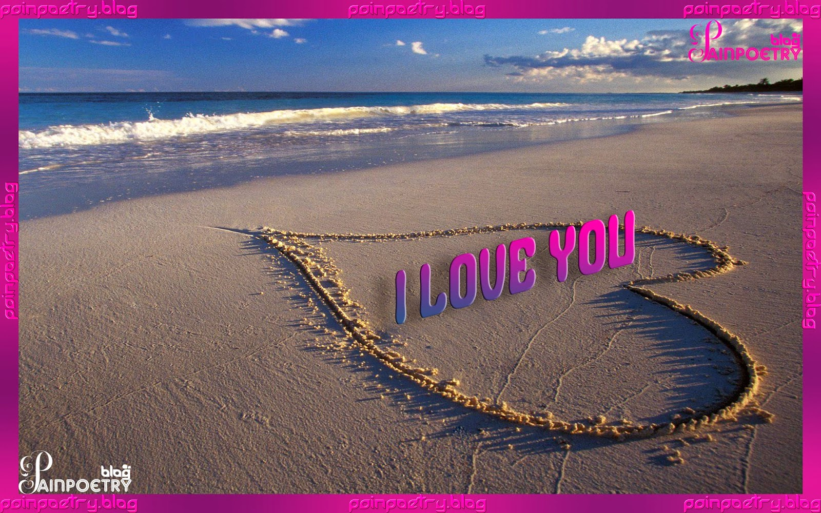 Love-Wallpaper-On-Beach-Image-HD