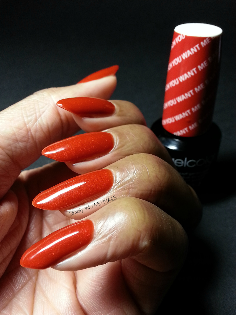 dark orange nail polish - HD 800×1067