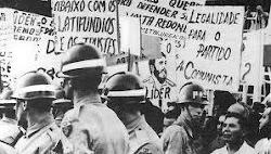 PCB anos 60 - Manifestação no início da década de 60 pela legalização do PCB