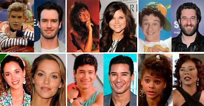 Antes y después de los seis protagonistas
