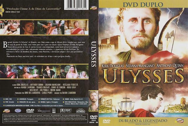 Capa DVD Ulysses