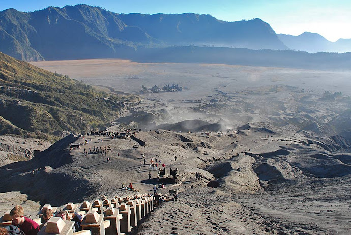 Panorámica del volcán