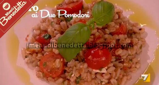 Farro ai due Pomodori di Benedetta Parodi