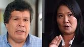 Keiko Fujimori: Heriberto Benítez presentó nuevas pruebas para exclusión El congresista entregó al