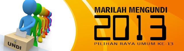 PRU13 - Semak Daftar Pemilih SPR Secara Online