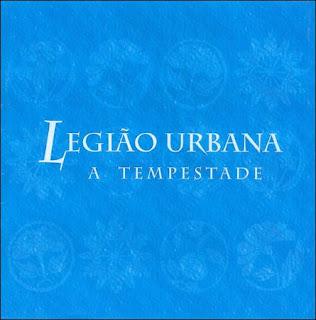Legião Urbana A Tempestade CD Capa