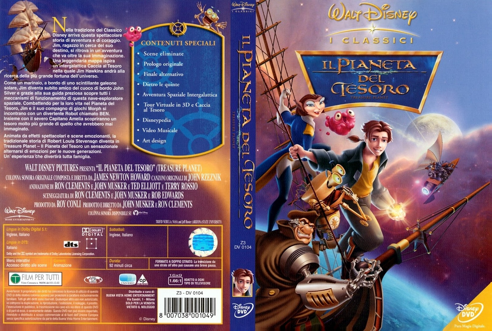 Opening to Treasure Planet 2003 VHS True HQ  YouTube