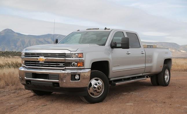 2014 Chevrolet Silverado HD Pictures