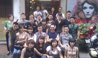 Trung tâm đào tạo dạy nghề tạo mẫu tóc nam nữ KORIGAMI TONIANDGUY