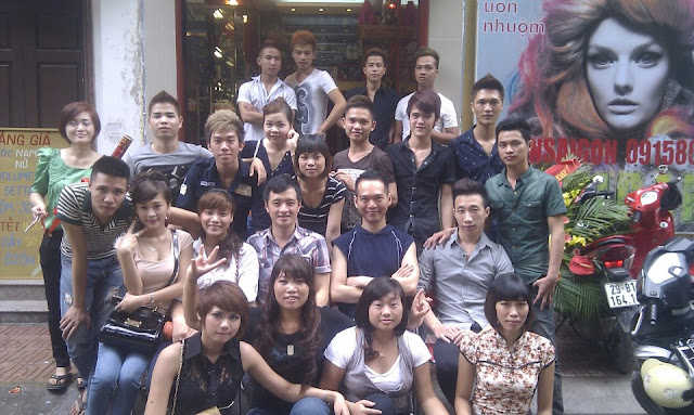 Kỷ niệm khai trương salon Korigami và kỷ niệm 3 năm thành lập trung tâm dạy nghề tóc [K+]