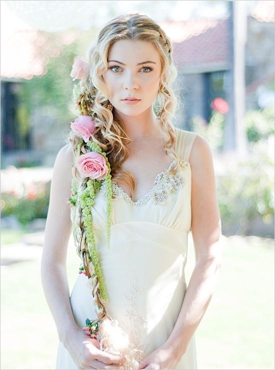 Absolutely Beautiful Bridal Hair: Rapunzel/ Tangled Bridal ...