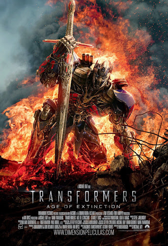 Transformers Age of Extinction (BRRip FULL HD Dual Latino / Ingles) (2014)