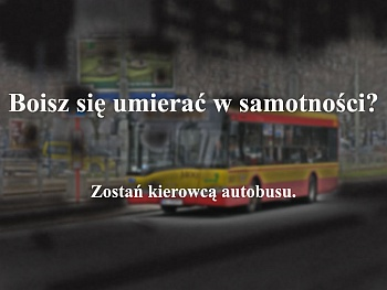 autobus, śmierć, samotność