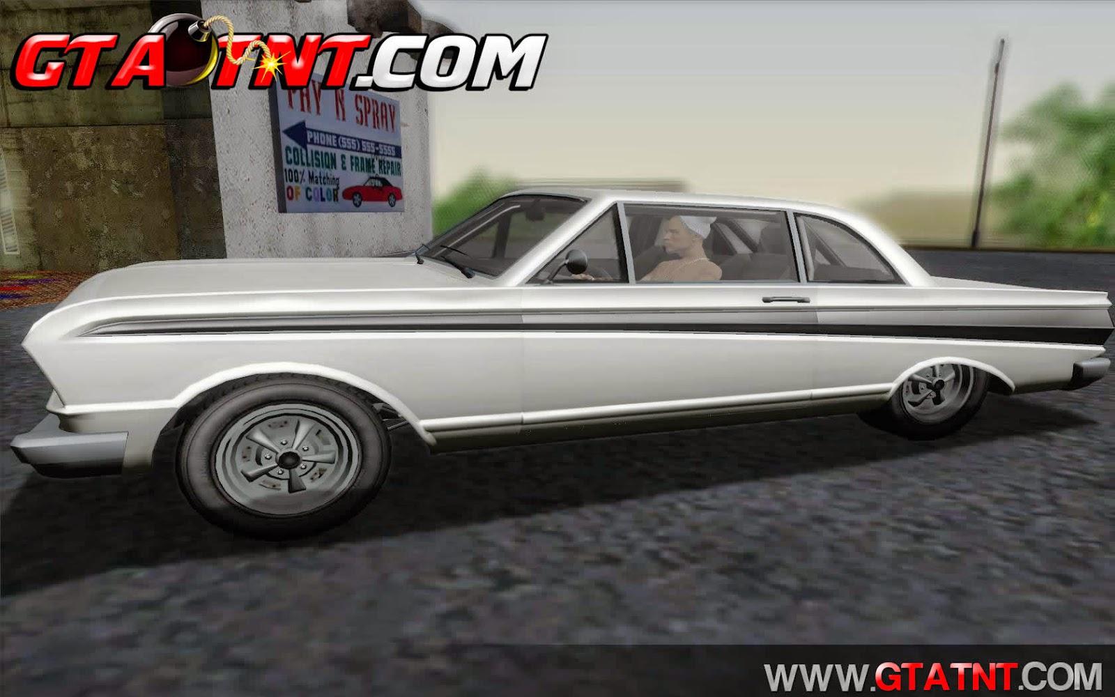 Blade Convertido do GTA V para GTA San Andreas